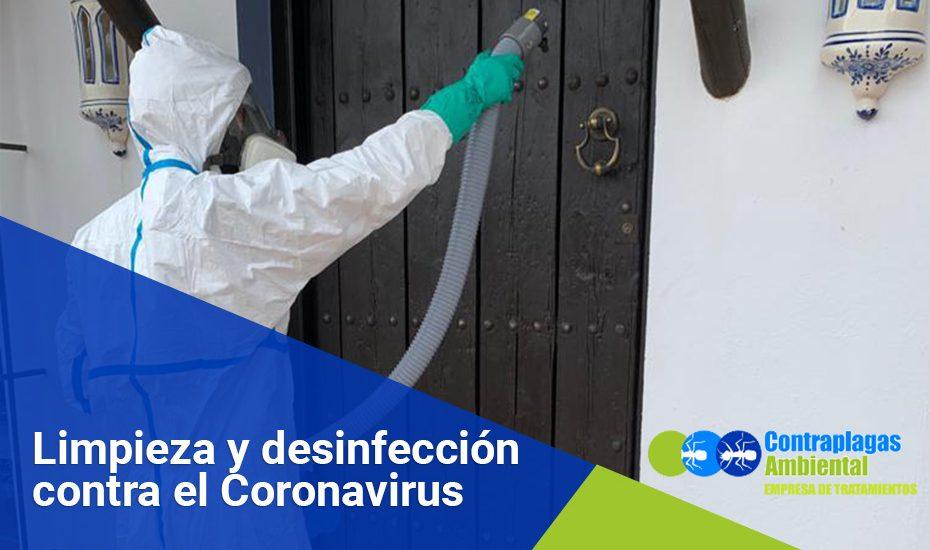 desinfeccion-limpieza coronavirus covid 19