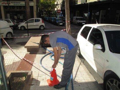 Desinfección de redes de agua